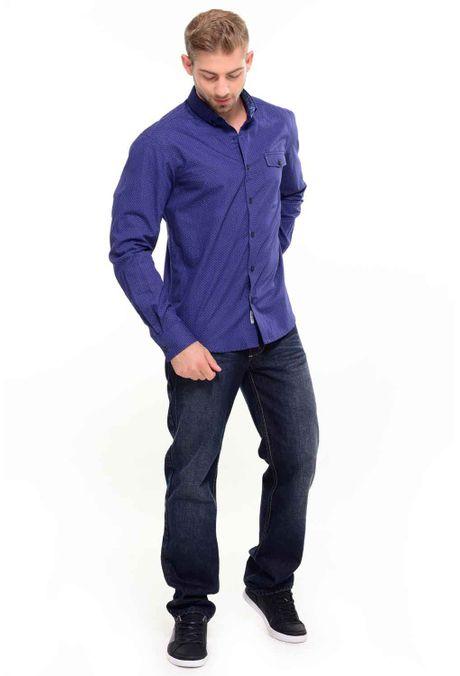Camisa-QUEST-Custom-Fit-111016153-Azul-Noche-1