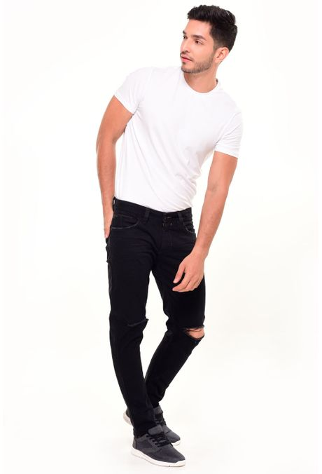 Jean-QUEST-Slim-Fit-110016181-Negro-1