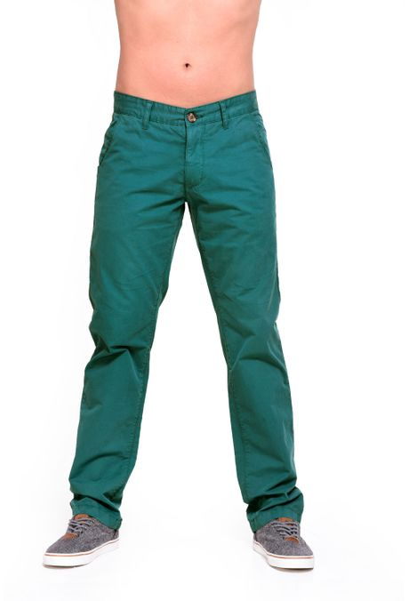 Pantalon-QUEST-Chino-Fit-109016029-Verde-Botella-1