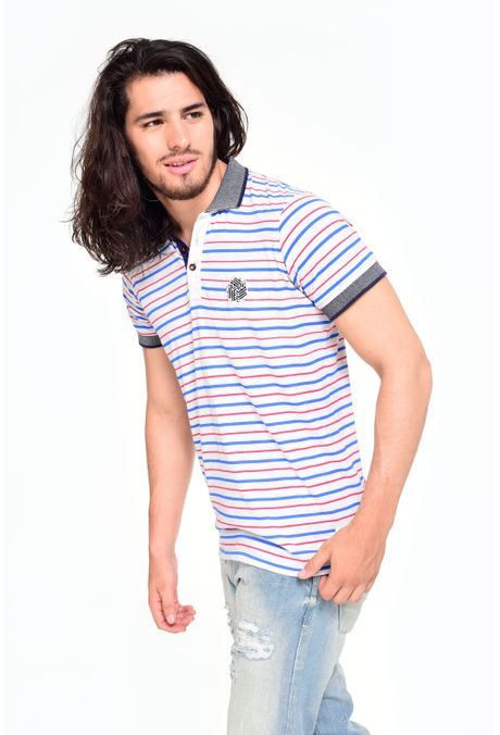 Polo-QUEST-Original-Fit-162016045-Gris-Jaspe-1