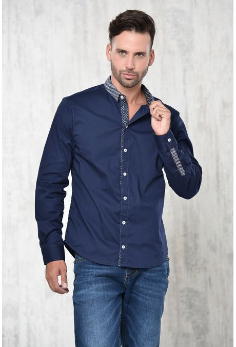 Camisa-QUEST-Slim-Fit-111015229-Azul-Oscuro-1
