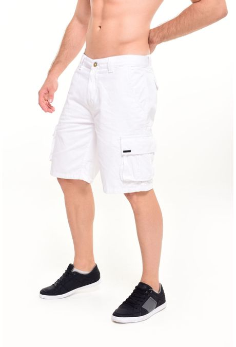 Bermuda-QUEST-Cargo-Fit-105016083-Blanco-5