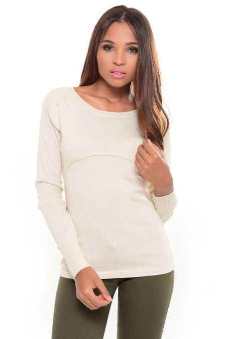 Sweater-QUEST-233016019-Beige-1