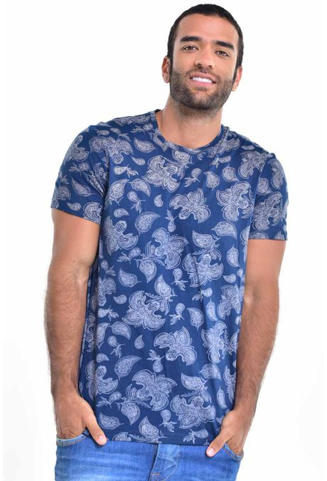 Camiseta-QUEST-Slim-Fit-163017000-Azul-Oscuro-1