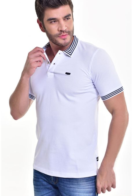 Polo-QUEST-Slim-Fit-162016037-Blanco-1