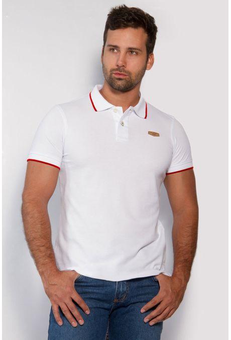 Polo-QUEST-Slim-Fit-162010002-Blanco-Rojo-1