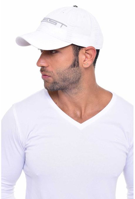 Gorra-QUEST-Custom-Fit-106010030-71-Blanco-Plata-2