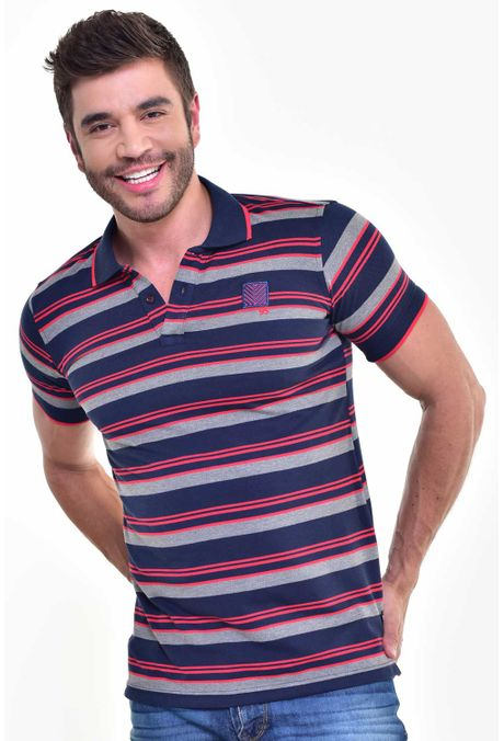 Polo-QUEST-Slim-Fit-162016078-Rojo-1