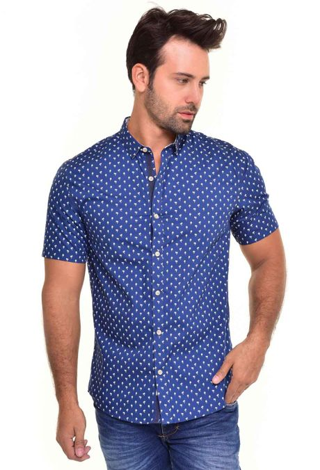 Camisa-QUEST-Custom-Fit-QUE111170076-Azul-Oscuro-1