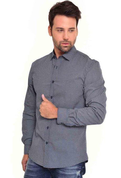 Camisa-QUEST-Slim-Fit-QUE111170080-Azul-Oscuro-1