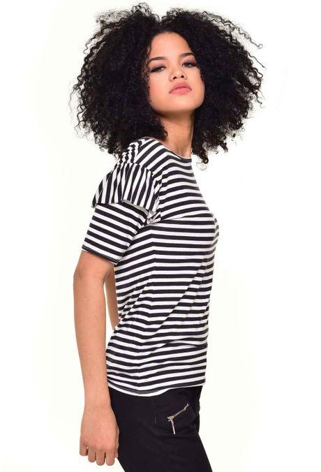 Camiseta-QUEST-QUE212170051-Negro-2