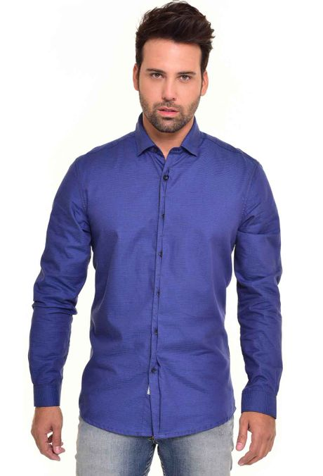 Camisa-QUEST-Custom-Fit-QUE111170060-Azul-Oscuro-1
