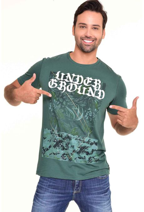 Camiseta-QUEST-Original-Fit-QUE112170038-Verde-Botella-1