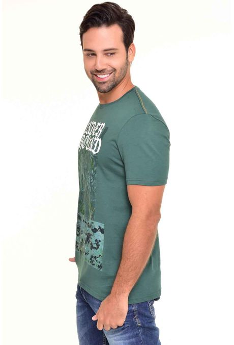 Camiseta-QUEST-Original-Fit-QUE112170038-Verde-Botella-2