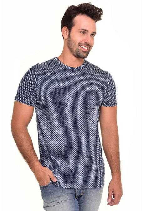 Camiseta-QUEST-Slim-Fit-QUE163170022-Azul-Oscuro-1