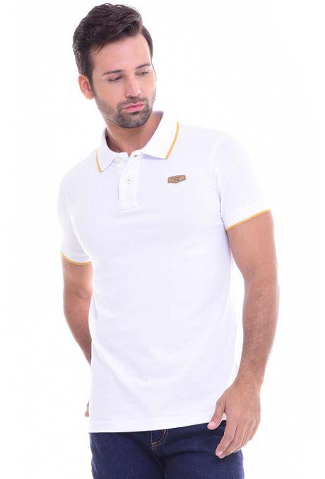 Polo-QUEST-Slim-Fit-162010002-97-Blanco-Amarillo-1