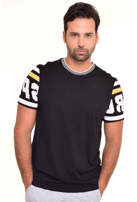 Camiseta-QUEST-Slim-Fit-QUE112170048-Negro-1