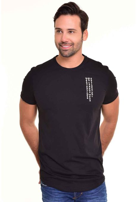 Camiseta-QUEST-Slim-Fit-QUE112170066-Negro-Negro-1