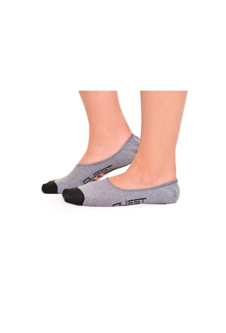 Medias-QUEST-Invisible-Fit-QUE124170028-Gris-Jaspe-1