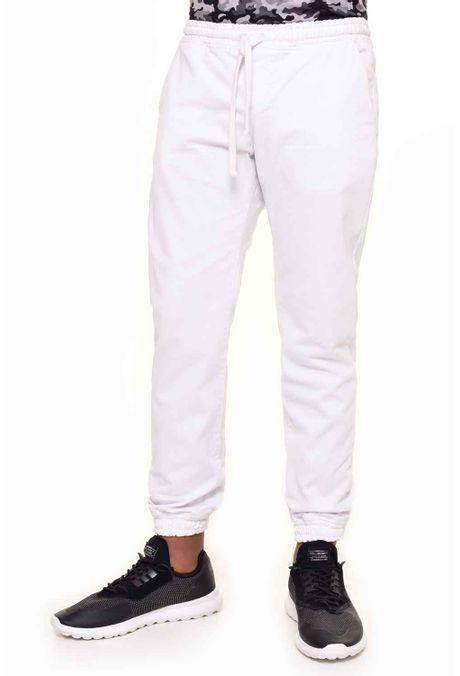 Pantalon-QUEST-Jogg-Fit-QUE309170001-Blanco-1