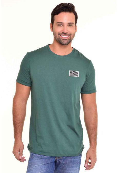 Camiseta-QUEST-Original-Fit-QUE112170092-Verde-Botella-1