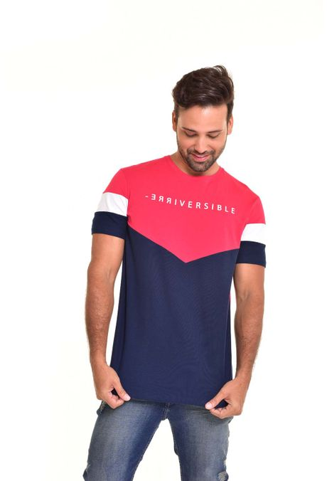 Camiseta-QUEST-Original-Fit-QUE112170104-Rojo-1