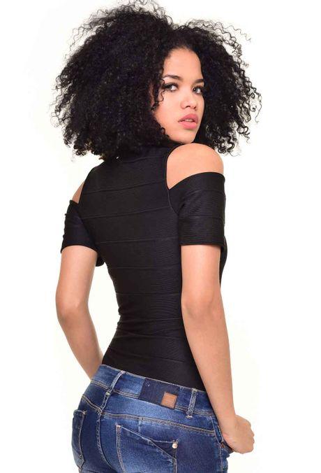 Camiseta-QUEST-QUE212170026-Negro-2