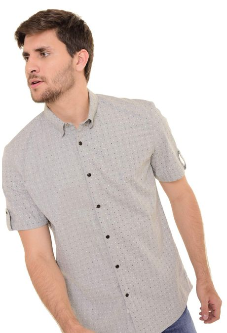 Camisa-QUEST-Custom-Fit-QUE111170097-Gris-Claro-2