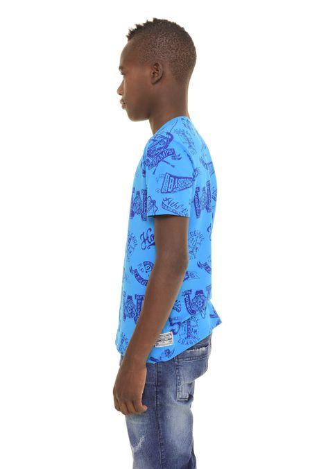 Camiseta-QUEST-QUE363170049-Azul-Turqueza-2