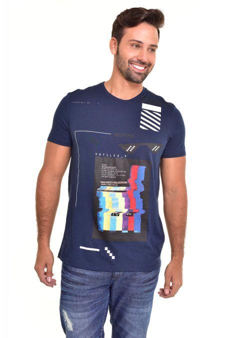 Camiseta-QUEST-Slim-Fit-QUE112170109-Azul-Noche-1