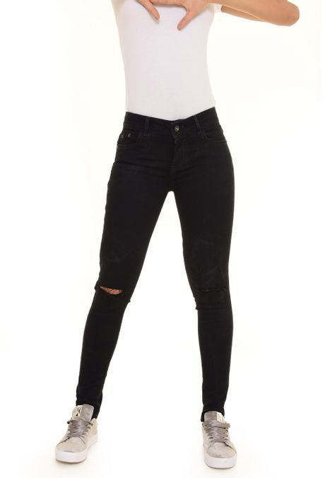 Pantalon-QUEST-Skinny-Fit-QUE209170014-Negro-1