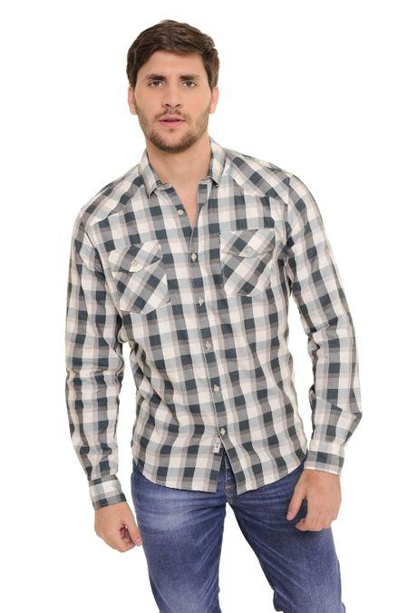 Camisa-QUEST-Slim-Fit-QUE111170101-Verde-Botella-1