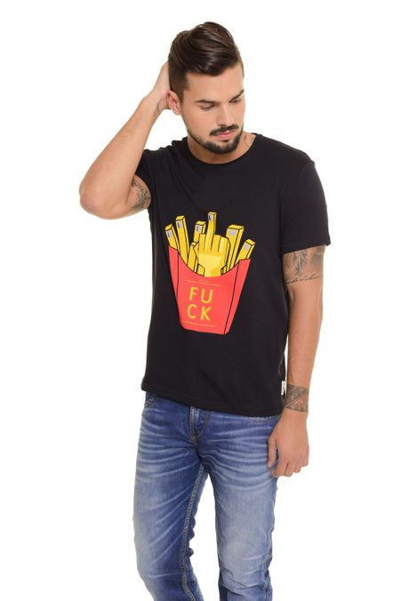 Camiseta-QUEST-Slim-Fit-QUE163170048-Negro-2