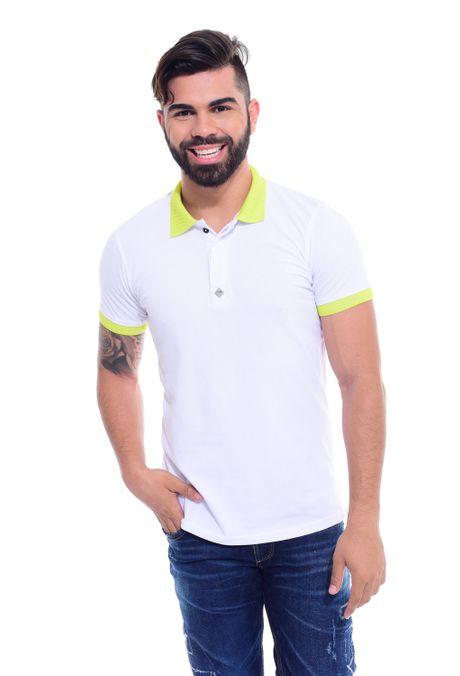 Polo-QUEST-Slim-Fit-QUE162170041-39-Verde-Limon-1