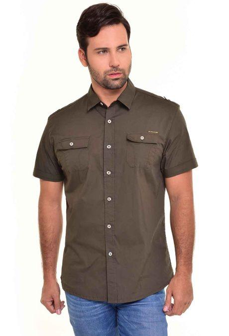 Camisa-QUEST-Custom-Fit-QUE111170030-99-Verde-Botella-1
