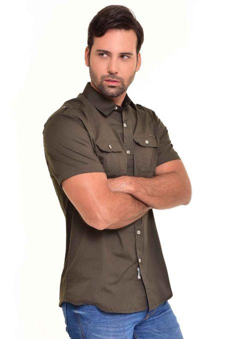 Camisa-QUEST-Custom-Fit-QUE111170030-99-Verde-Botella-2