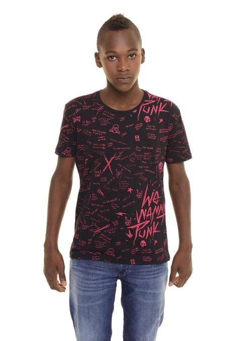 Camiseta-QUEST-QUE363170042-19-Negro-1