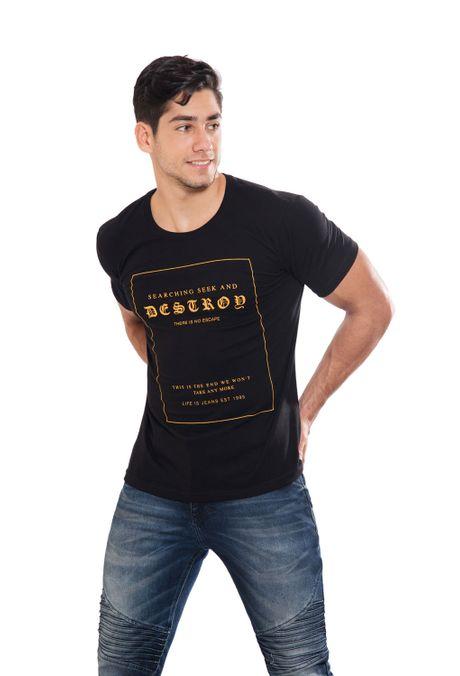 Camiseta-QUEST-QUE163170091-19-Negro-1