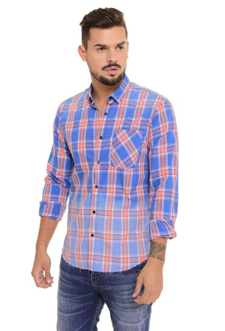 Camisa-QUEST-Slim-Fit-QUE111170111-46-Azul-Rey-1