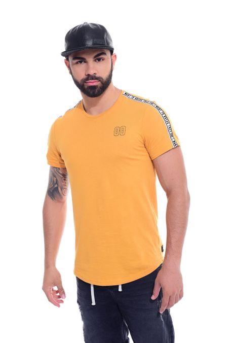Camiseta-QUEST-QUE112170232-50-Mostaza-1