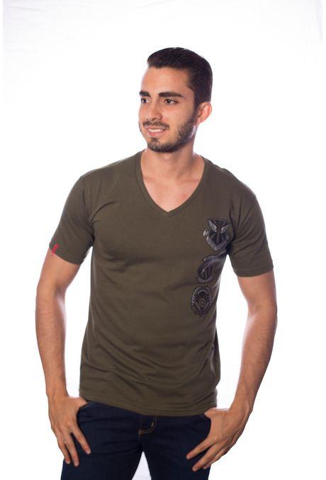 Camiseta-QUEST-QUE163BS0033-38-Verde-Militar-1