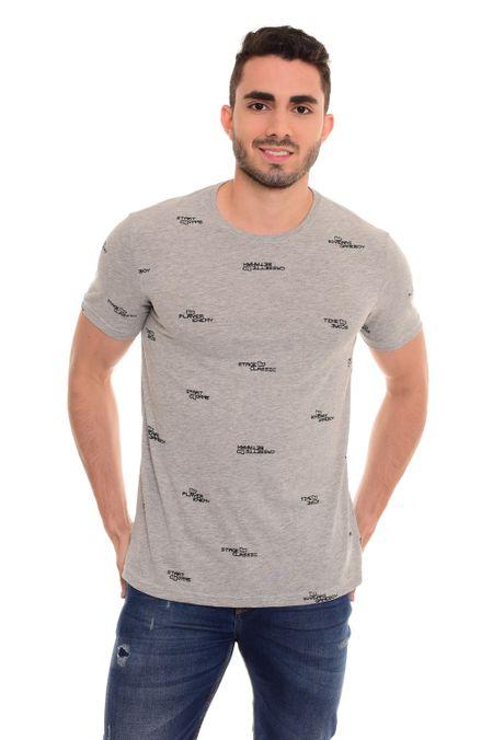 Camiseta-QUEST-QUE163180007-86-Gris-Jaspe-Medio-1
