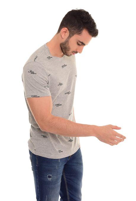 Camiseta-QUEST-QUE163180007-86-Gris-Jaspe-Medio-2