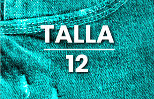 Jeans mujer talla 12