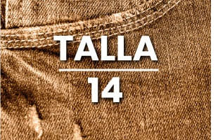 Jeans mujer talla 14