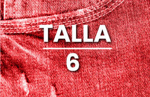 Jeans mujer talla 6
