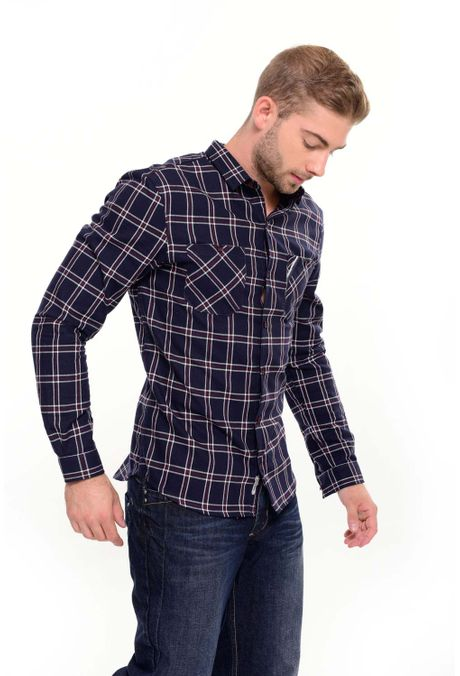 Camisa-QUEST-Original-Fit-111016176-Azul-Oscuro-2