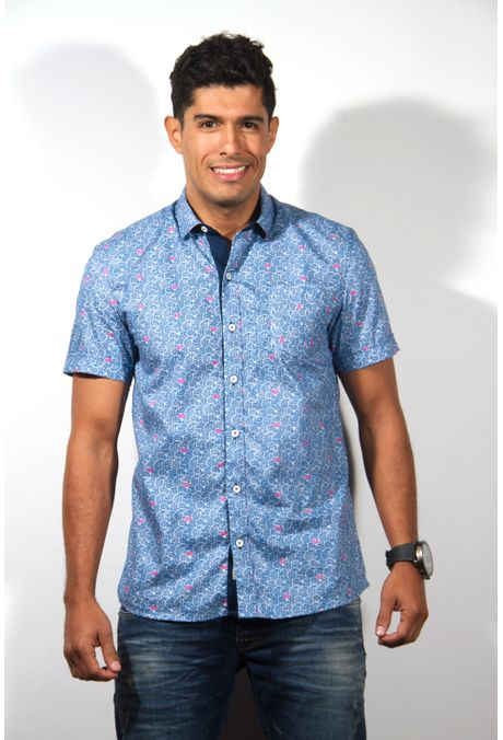 Camisa-QUEST-Custom-Fit-111016169-Azul-Medio-1