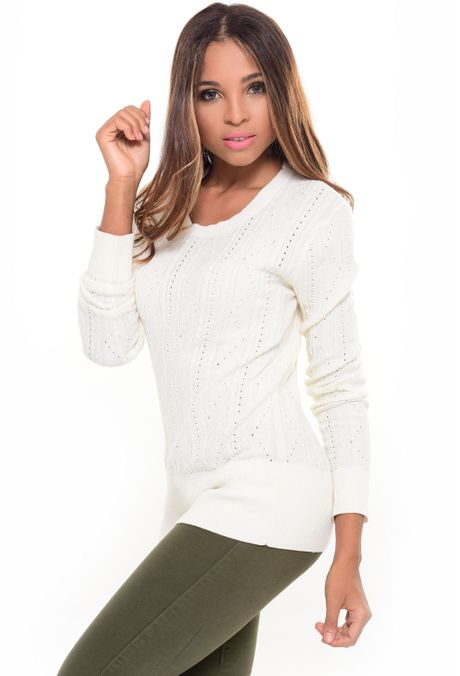 Sweater-QUEST-233016014-Beige-1