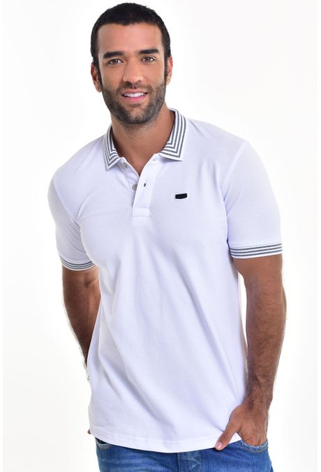 Polo-QUEST-Slim-Fit-162016037-Blanco-Plata-1